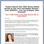Get More from Internet Marketing with Events – Earn1KaDay Seminar Recordings for 2014