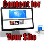 Content for Your Website (Things an Internet Marketer can Outsource – 2 of 30)