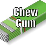 Chew Gum (Tips to be More Relaxed – 30 of 31)