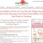 Done for You Class: Teach Others Success Habits – 6 Things Successful People Do Each Morning