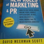"Just Got ""The New Rules of Marketing & PR"" Book"