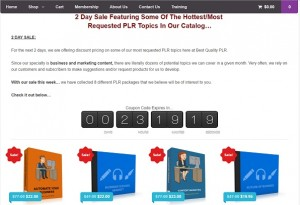 Best Quality PLR Hot Topic Sale