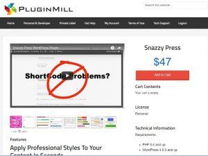 Snazzy Press Plugin