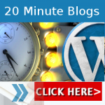 Get Your Weight Loss Blog Up and Running in 20 Minutes! 20 Minute Blogs are Back!