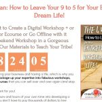 The 4 Week Plan – How to Leave Your 9 to 5 for Your Entrepreneur Dream Life! (CoachGlue 12 Days of Deals:  Day 1)