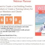 $10 Off Webinar Planner (CoachGlue 12 Days of Deals: Day 2)