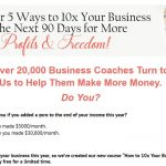 Free Training:  Want to Earn 10x Your Income in the next 90 Days?
