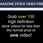 Pay for 1 and get 100 Stock Video Clips!