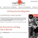 65 Done For You Blog Posts (Get $10 Off Now!)